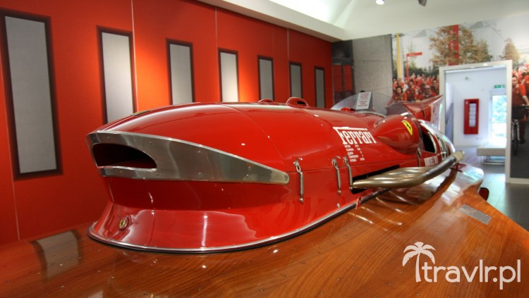 Hydroplan Timossi Ferrari Arno XI 1953 rok