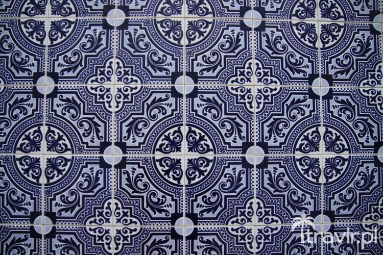 Azulejos w Aveiro