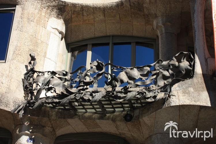 Balkon Casa Mila - La Pedrera
