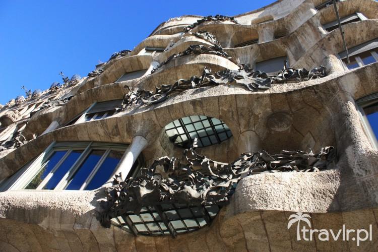 Balkony Casa Mila - La Pedrera