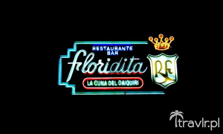 Szyld baru Floridita, Havana Vieja