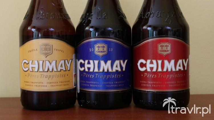 Belgijskie piwo Trapistów Chimay
