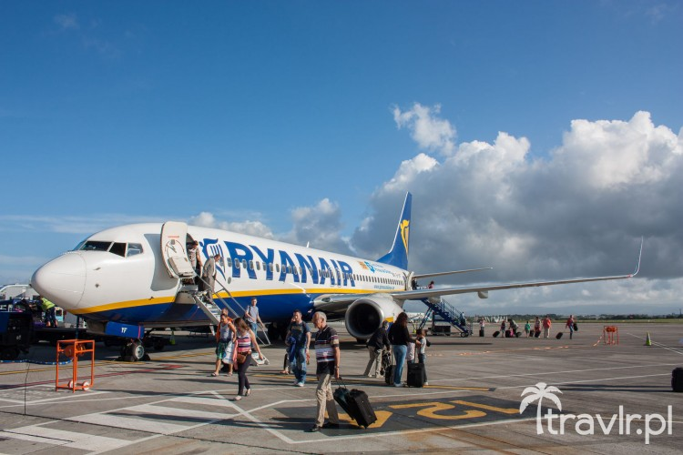 Boeing 737-800 Ryanair w Eindhoven Holandia