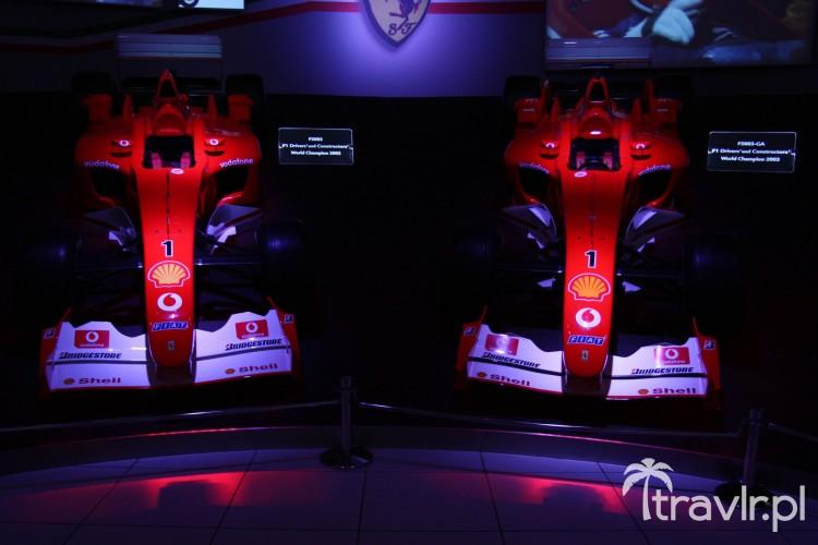 Bolid F2002 i F2003-GA - mistrzostwo świata konstruktorów