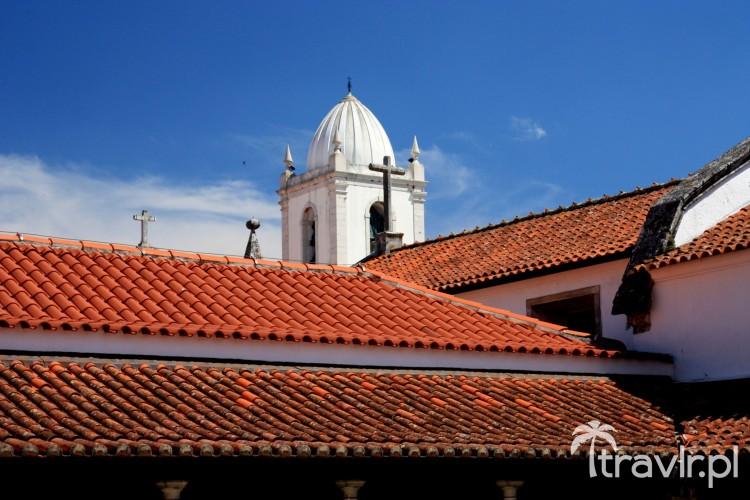 Dach katedry św. Dominika w Aveiro