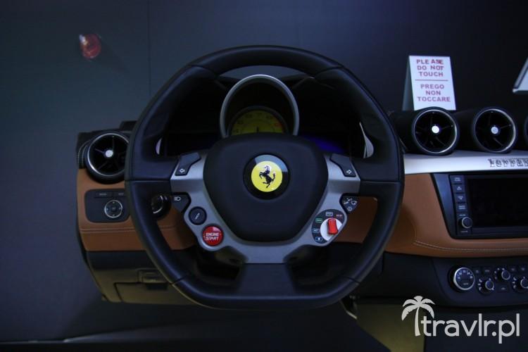 Deska rozdzielcza Ferrari