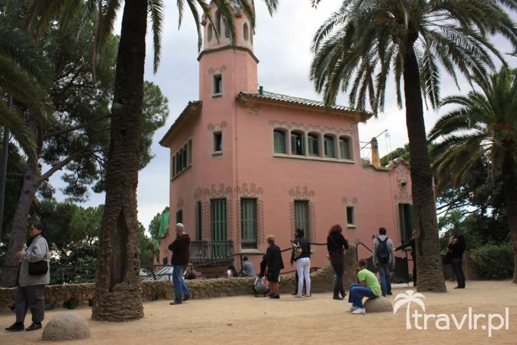 Dom Gaudiego (obecnie muzeum) w parku Guell, Barcelona