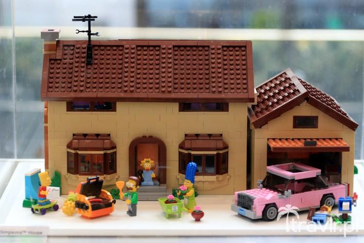 Domek z klocków LEGO