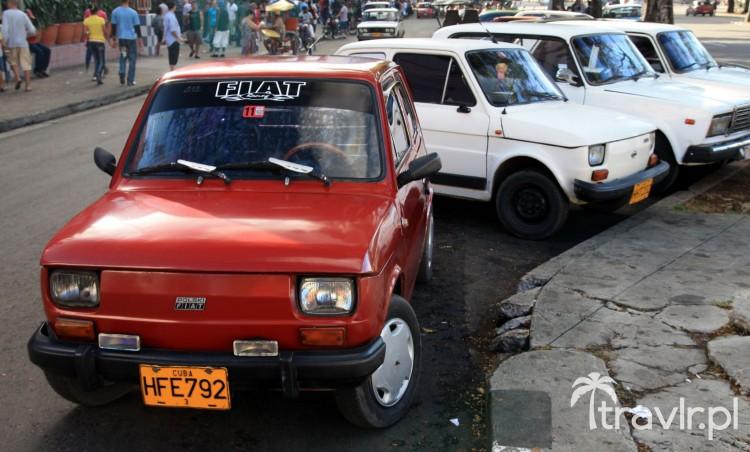 Fiat 126p na Kubie