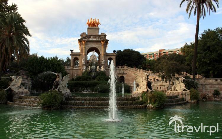 Fontanna Cascada, Park Ciutadella, Barcelona