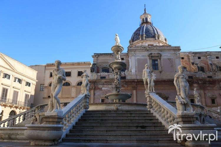 Fontanna Wstydu w Palermo
