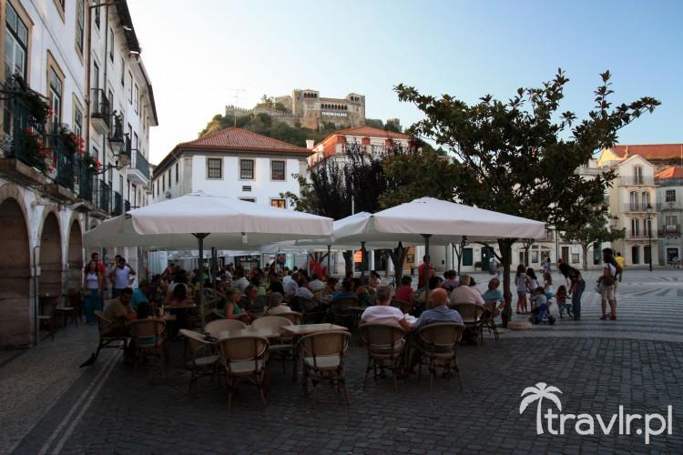 Główny plac w Leiria