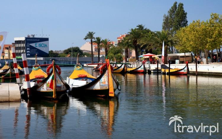 kanały Aveiro - portugalskiej Wenecji