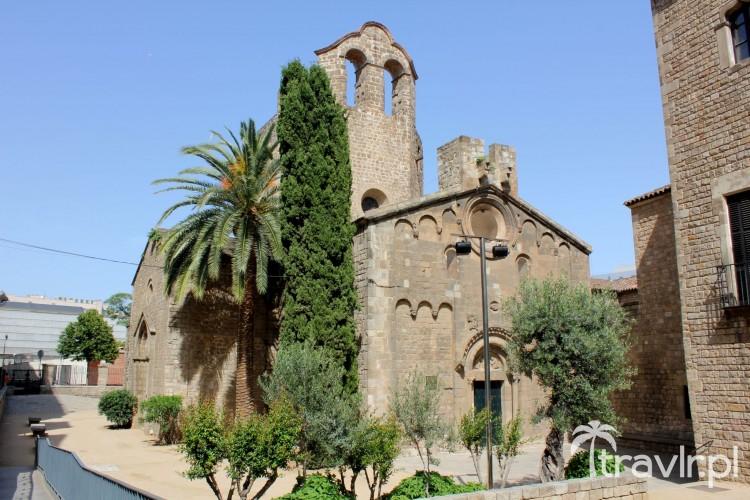 Klasztor Sant Pau de Camp w Barcelonie