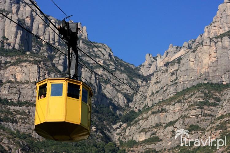 Kolejka linowa na Montserrat