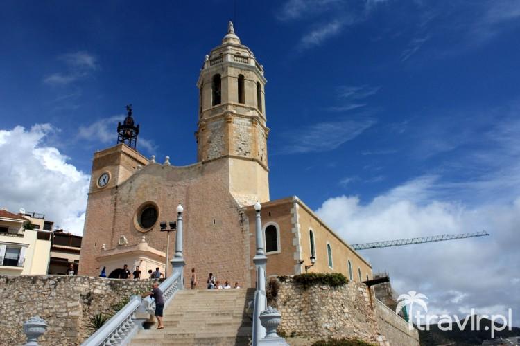 Kościół św. Bartłomieja i św. Tekli, Sitges, Katalonia