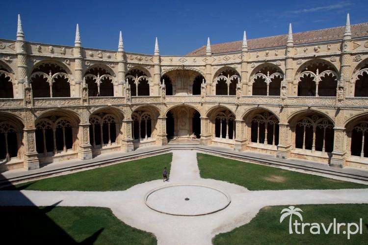 Krużganki - Klasztor Hieronimitów w Lizbonie