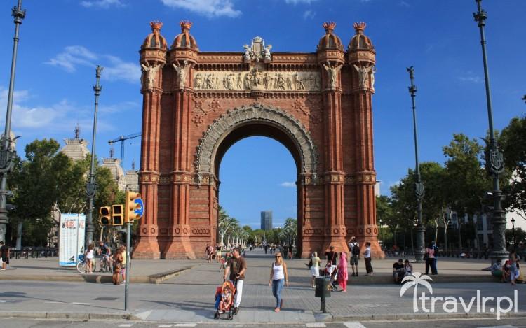 Łuk triumfalny w parku Ciutadella, Barcelona