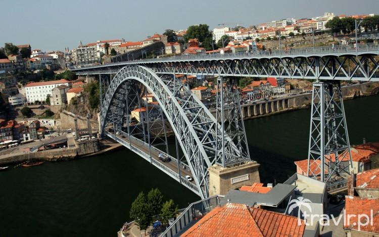 Most Ponte Dom Luis I w Porto