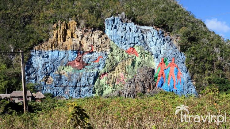 Mural de la Prehistoria w dolinie Vinales