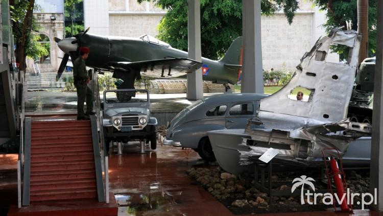 Pojazdy w muzeum rewolucji