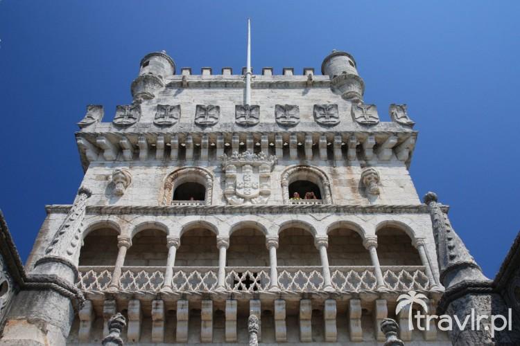 Ozdobne balkony - Wieża Belem