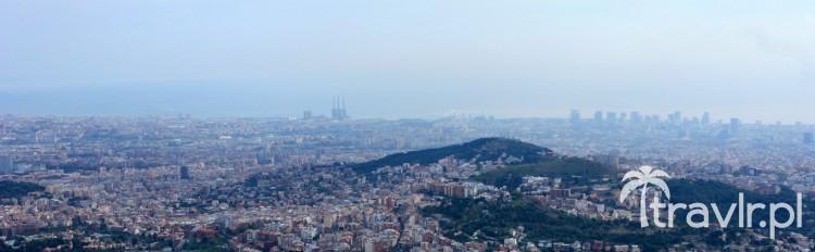 Panorama Barcelony z Tibidabo