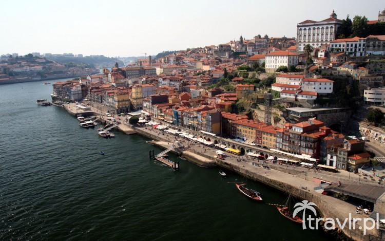 Panorama Porto z mostu Ponte Dom Luis I