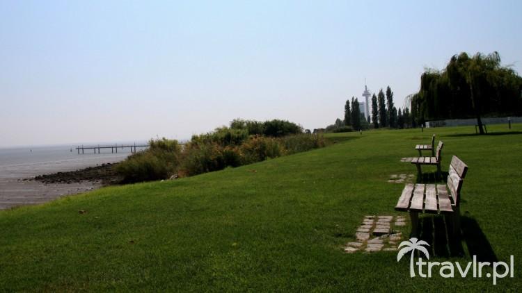 Park przy moście Vasco da Gama, Lizbona