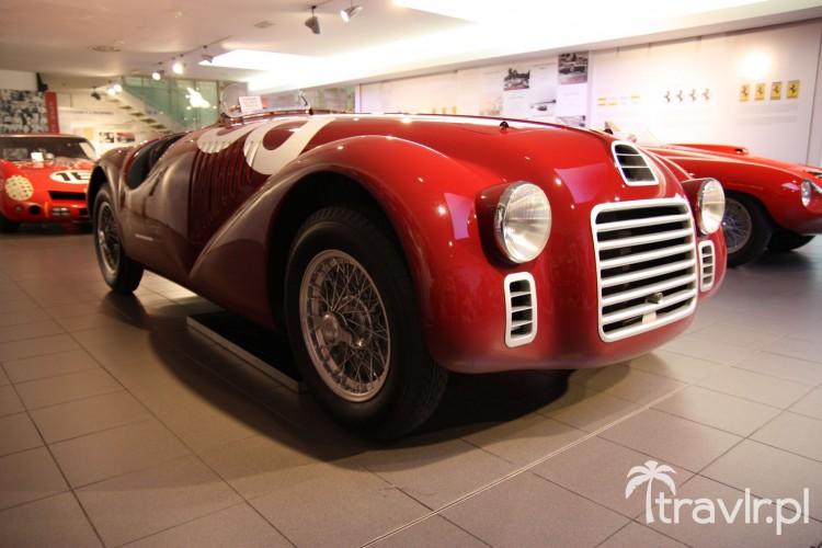 Ferrari 125S z 1947 roku - pierwsze cywilne Ferrari