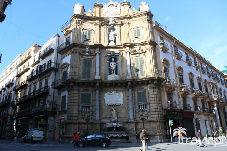 Plac czterech kątów w Palermo