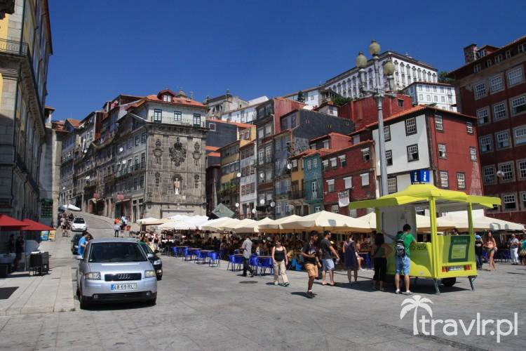 Plac da Ribeira w Porto, Portugalia