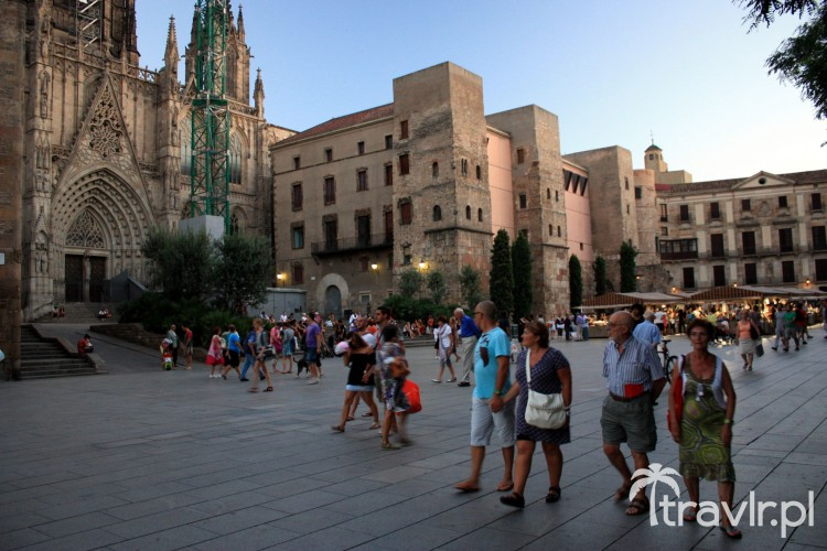 Placa Catedral Barcelona