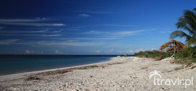 Plaża na wyspie Cayo Jutias