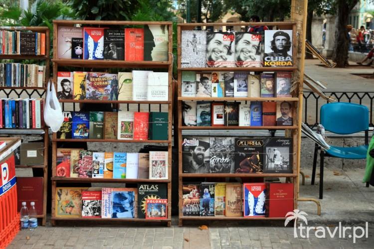 Targ książek na Plaza de Armas