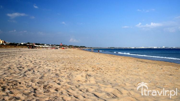 Plaża Meia Praia w Lagos