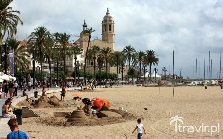 Plaża w Sitges