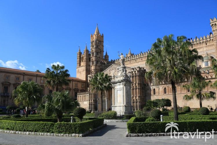 Pochodząca z XII wieku Katedra w Palermo