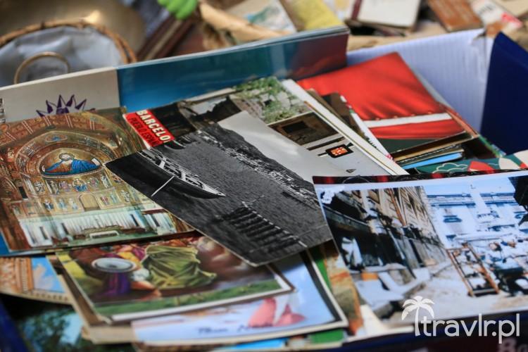 Pocztówki na bazarze Vucciria