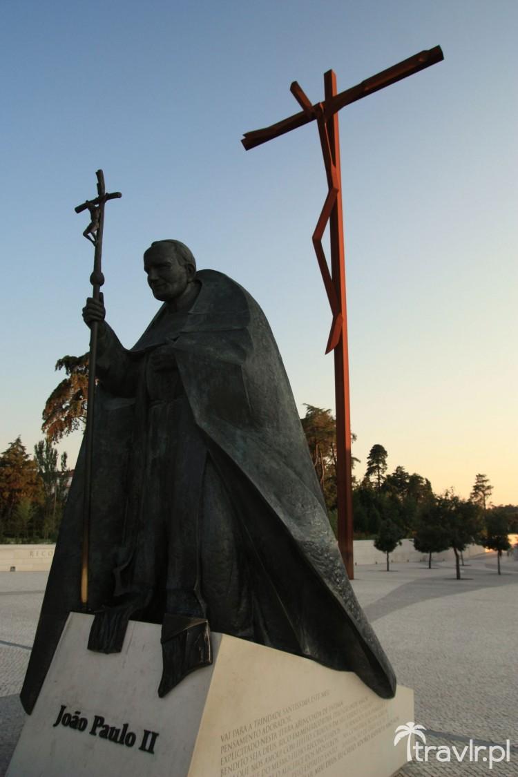 Pomnik Jana Pawła II w Fatimie