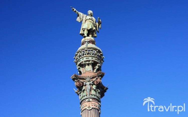 Pomnik Krzysztofa Kolumba w Barcelonie