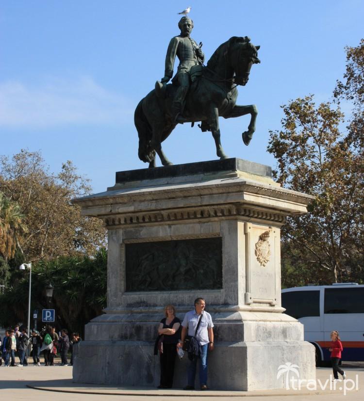 Pomnik w Parku Ciutadella