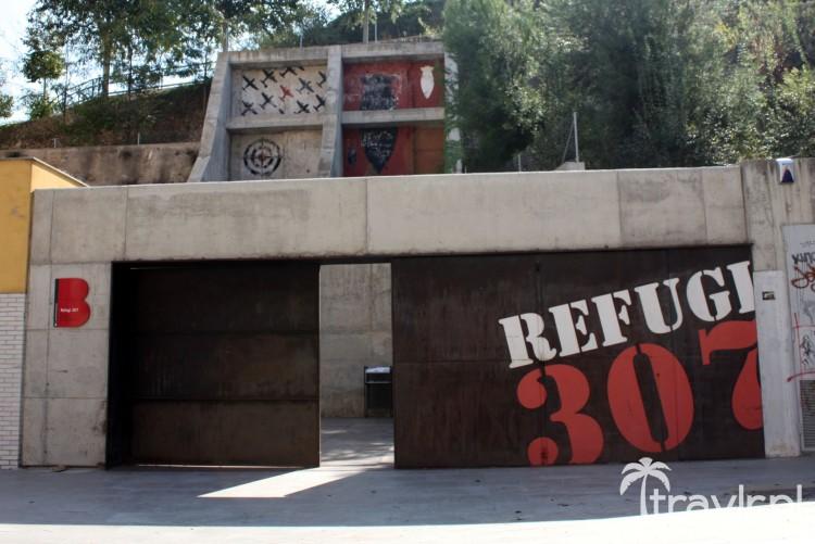 Refugio 307 - Schron przeciwlotniczy w Barcelonie