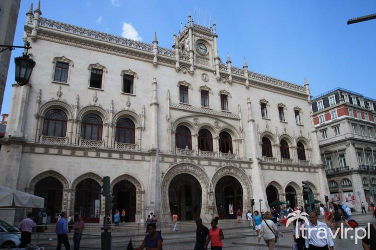 stacja Rossio Lizbona