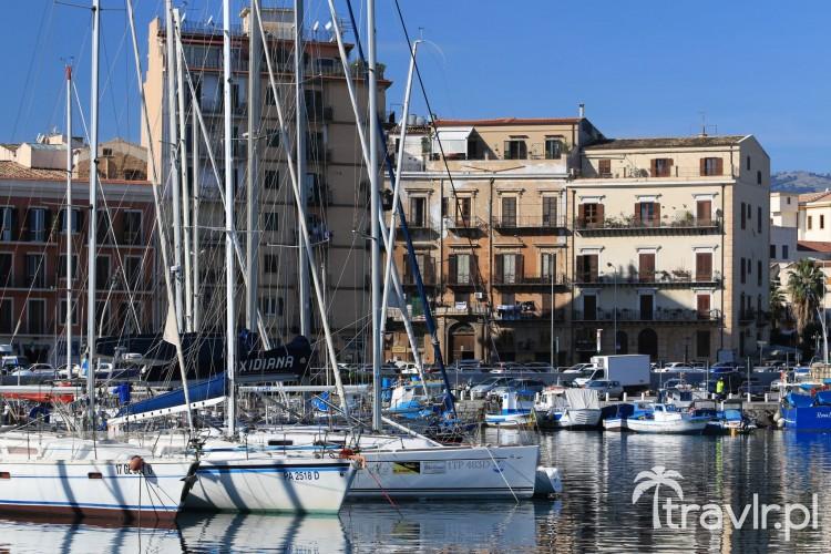 Stary port w Palermo
