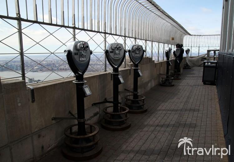 Taras widokowy na 86 piętrze Empire State Building