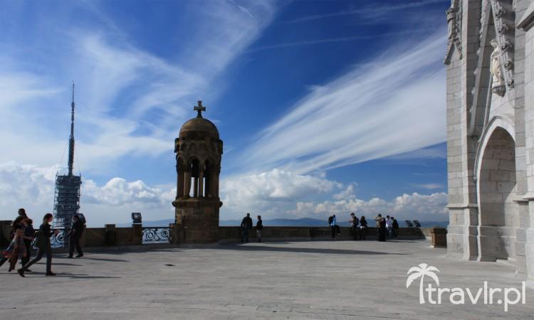 Taras widokowy w kościele Najświętszego Serca (Temple de Sagrat Cor) Tibidabo
