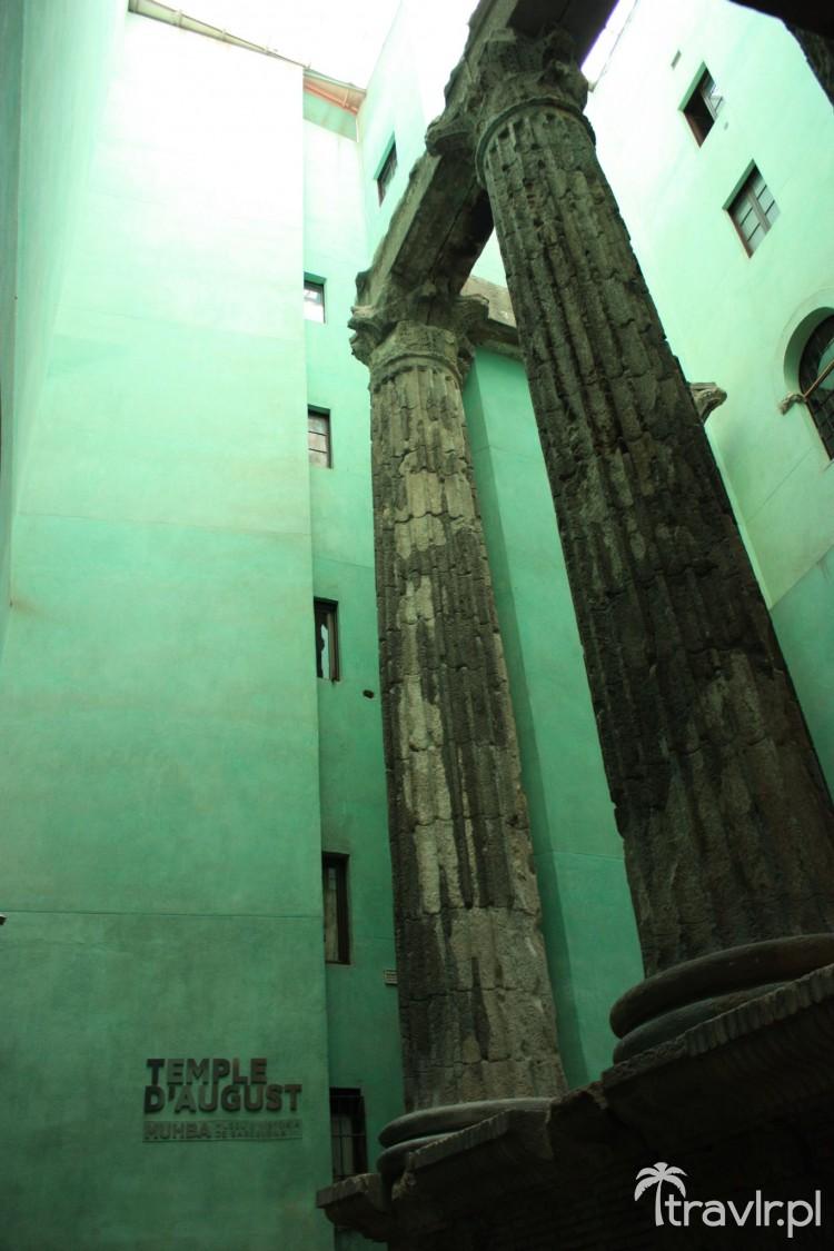 Temple d'august - Świątynia Augusta - Barcelona