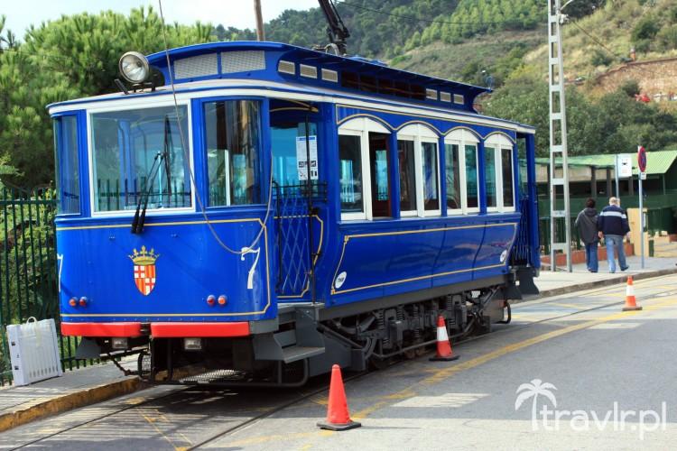 Tramvia Blau - Niebieski tramwaj na Tibidabo, Barcelona