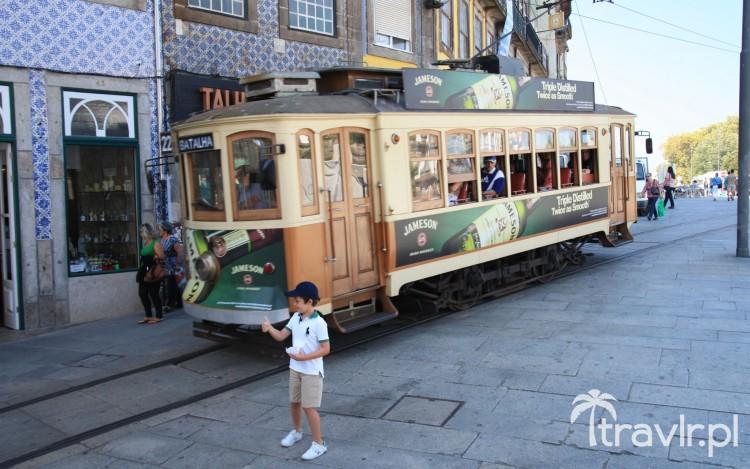Tramwaj w Porto